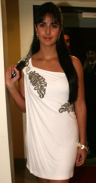 bollywood katrina kaif beautiful in stylish white dress cute stills