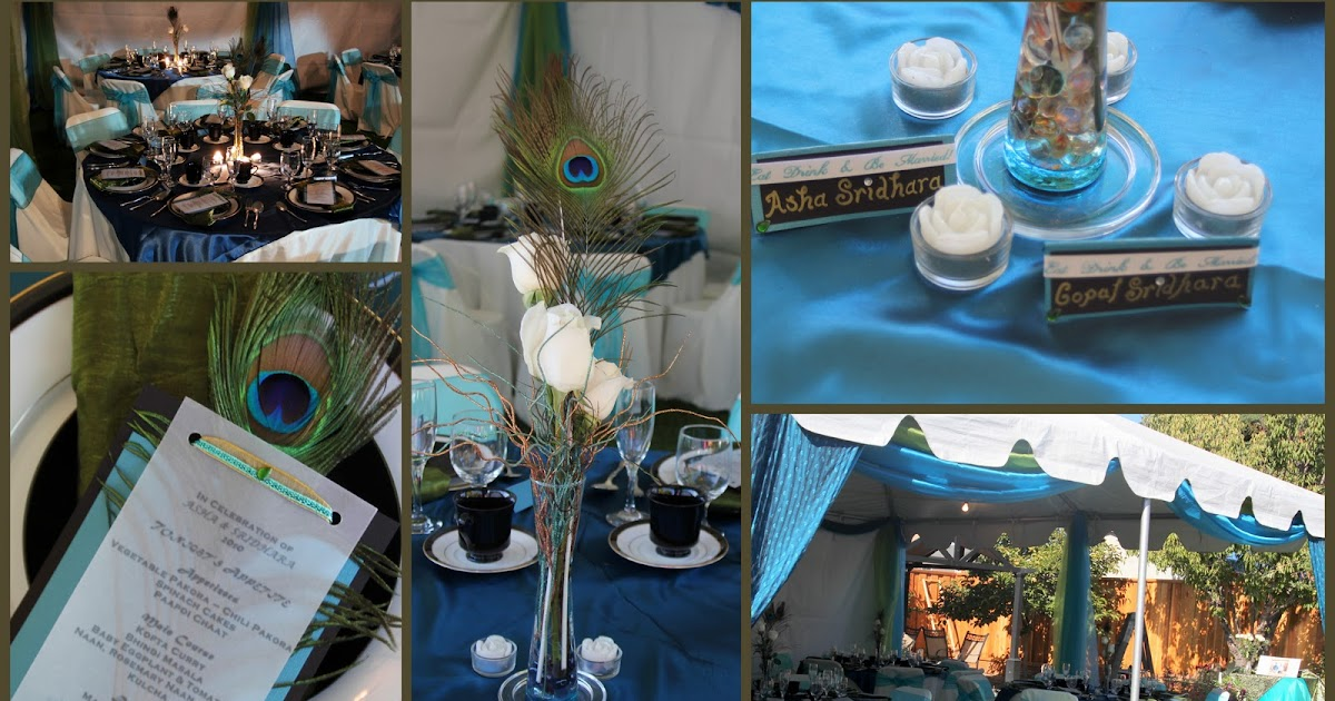 Creative atma events peacock themed 25th anniversary 50th for 25th birthday decoration ideas