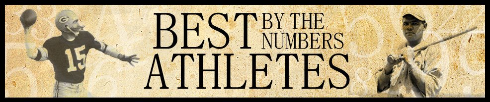 Best Athletes by the Numbers