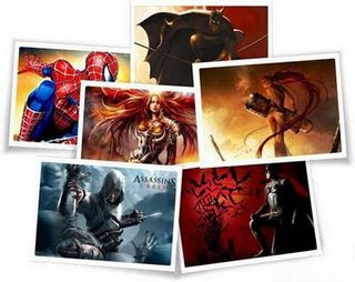 Wallpapers de Herois dos Games