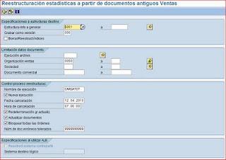 Reestructurar sistema info