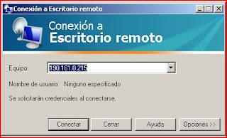 Conexión remota