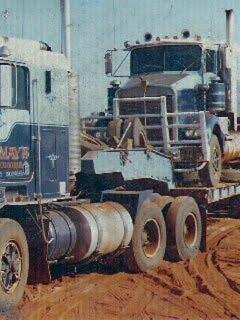 Our Trucks In Kalgoolie WA Australia