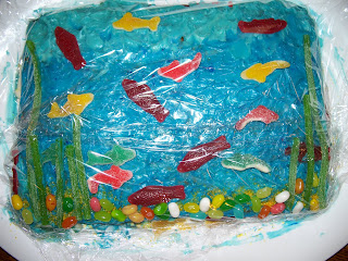 under the sea cake by Jeffrey