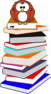 owl atop books courtesy of Whiter78 on sxc.hu