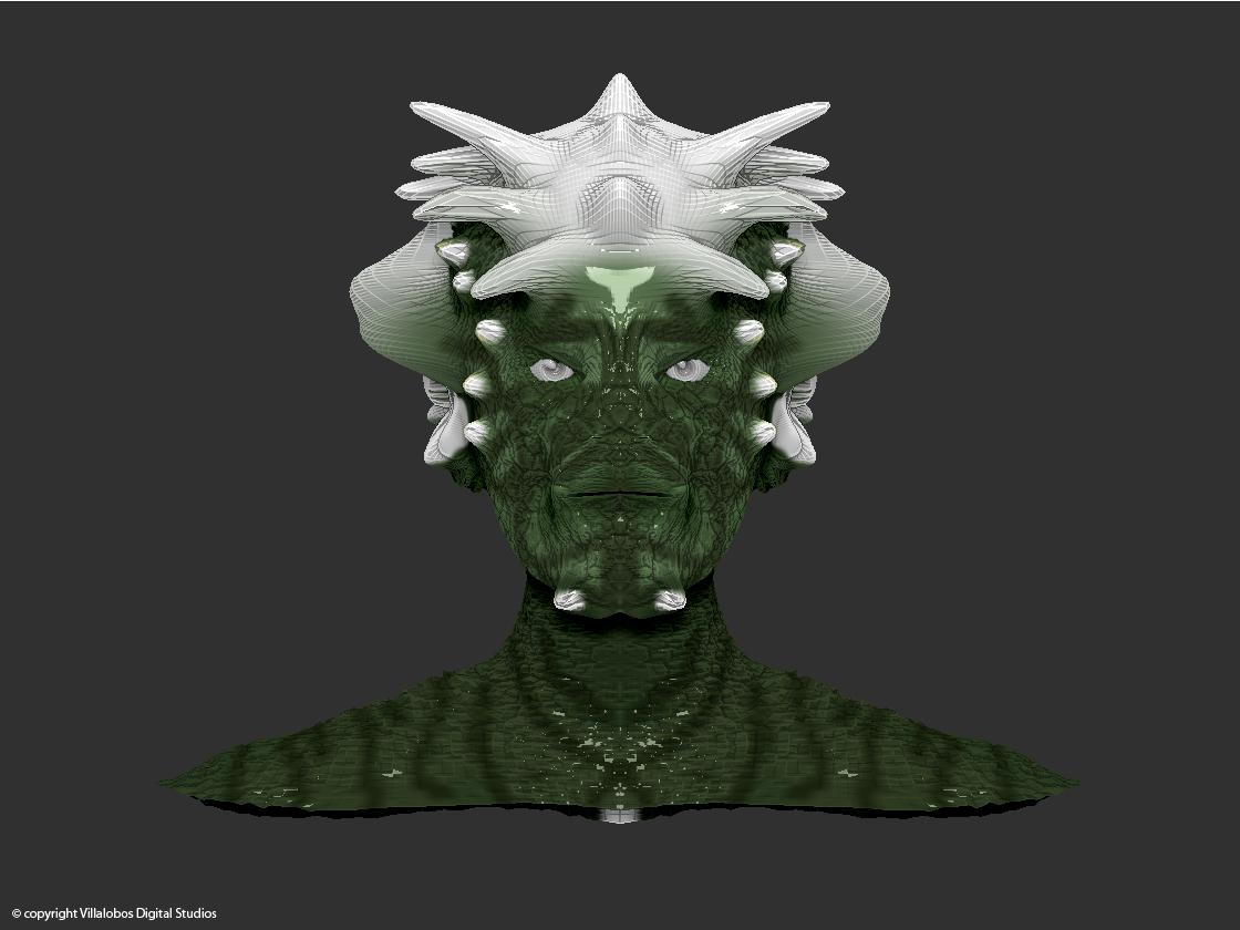 3d Character Design Website : Alex villalobos digital studios