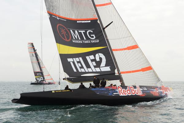 32ª America's Cup, el barco que correrán los suecos está diseñado por un Argentino?
