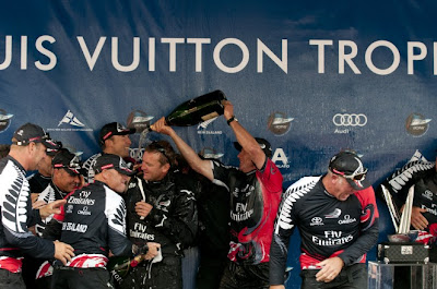Team New Zealand gagne le Louis Vuitton Trophy de Auckland