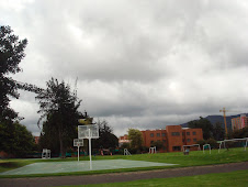 El Colegio Calasanz esparando la lluvia