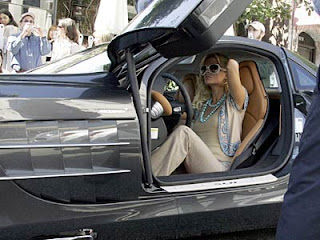 Paris Hilton's car, Paris Hilton