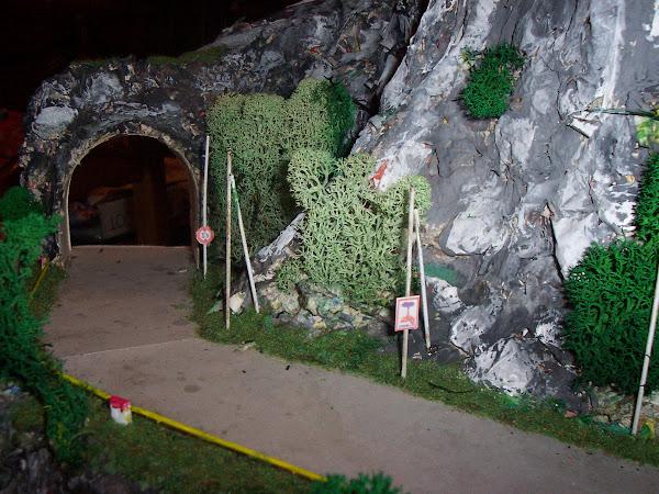 la corniche, tunnel de sortie à gauche