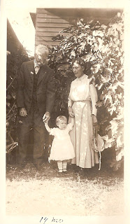 Family Photographs - Post 59: Betty and her Grandparents