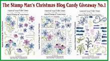 The Stamp man X-MAS Blog Candy
