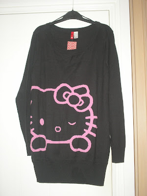 White Sweater Dress on Really Want This H M Hello Kitty Sweater Dress  In Same Color Or