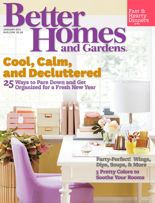 Peach and pearl better homes and gardens january issue Better homes and gardens current issue