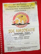 4 Batismo Torca de Cordas e Encontro Nacional de Capoeira