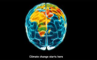 A mudança climática inicia aqui!