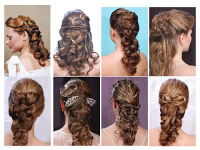 peinados ondeados