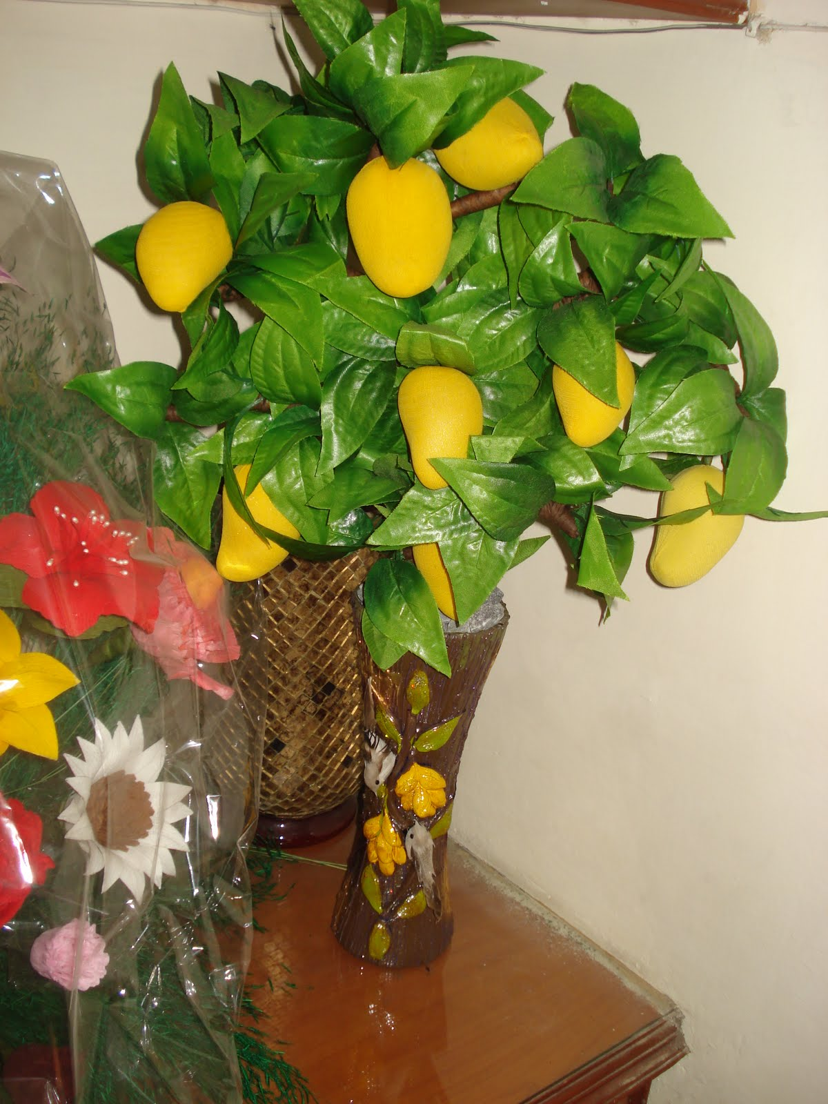 Wallpaper Wallpaper Lemon Tree