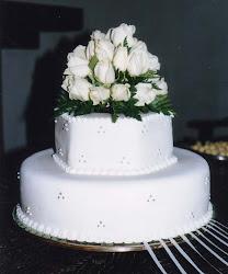 Matrimonio, rosas blancas