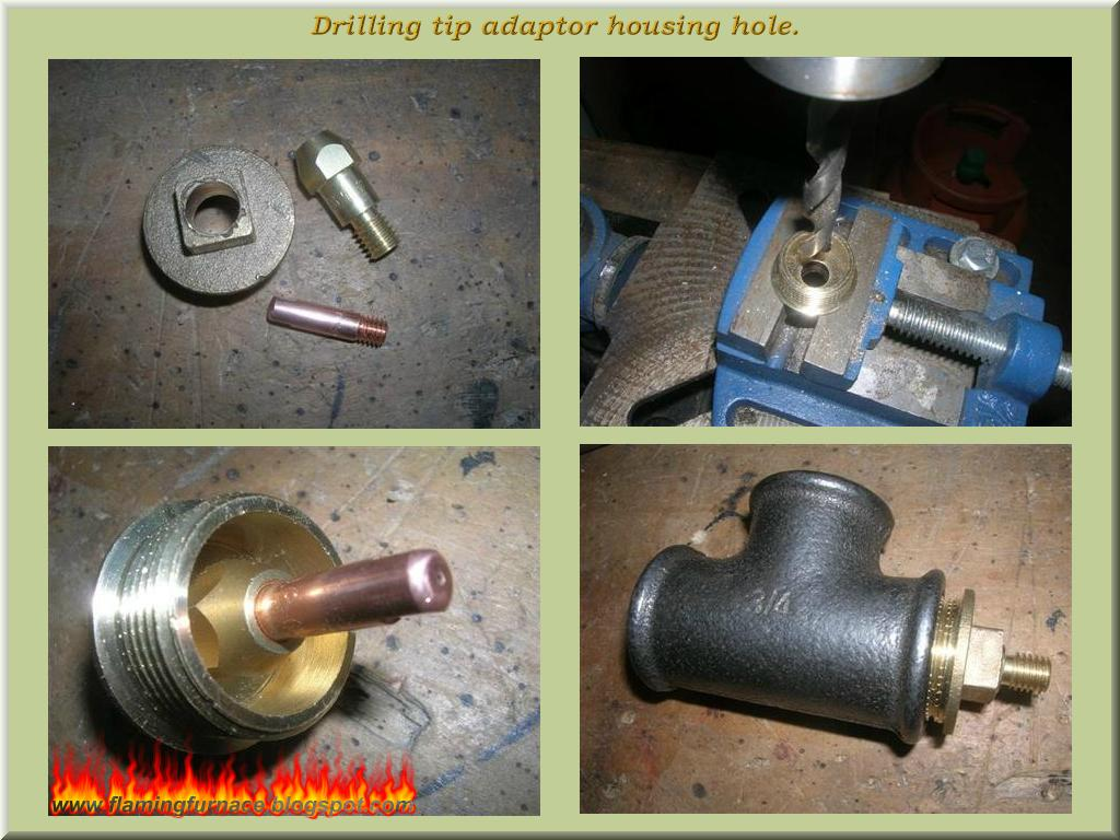 foundry gas burner metal casting projects