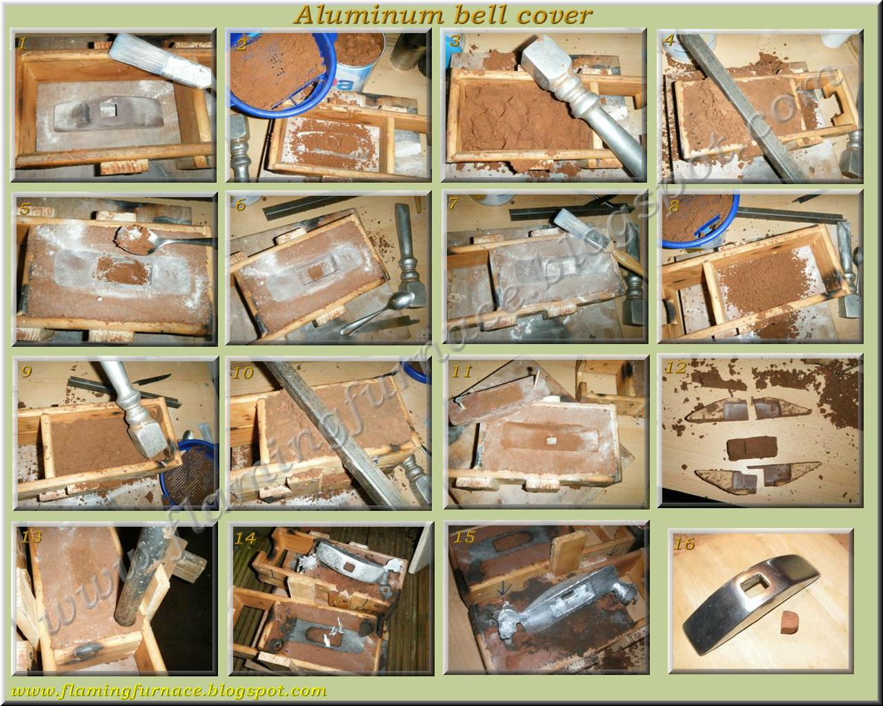january 2011 metal casting projects