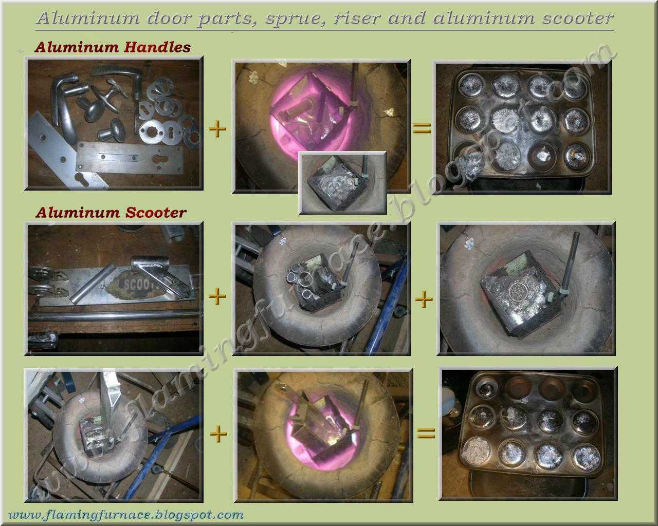 aluminum ingots for the foundry metal casting projects