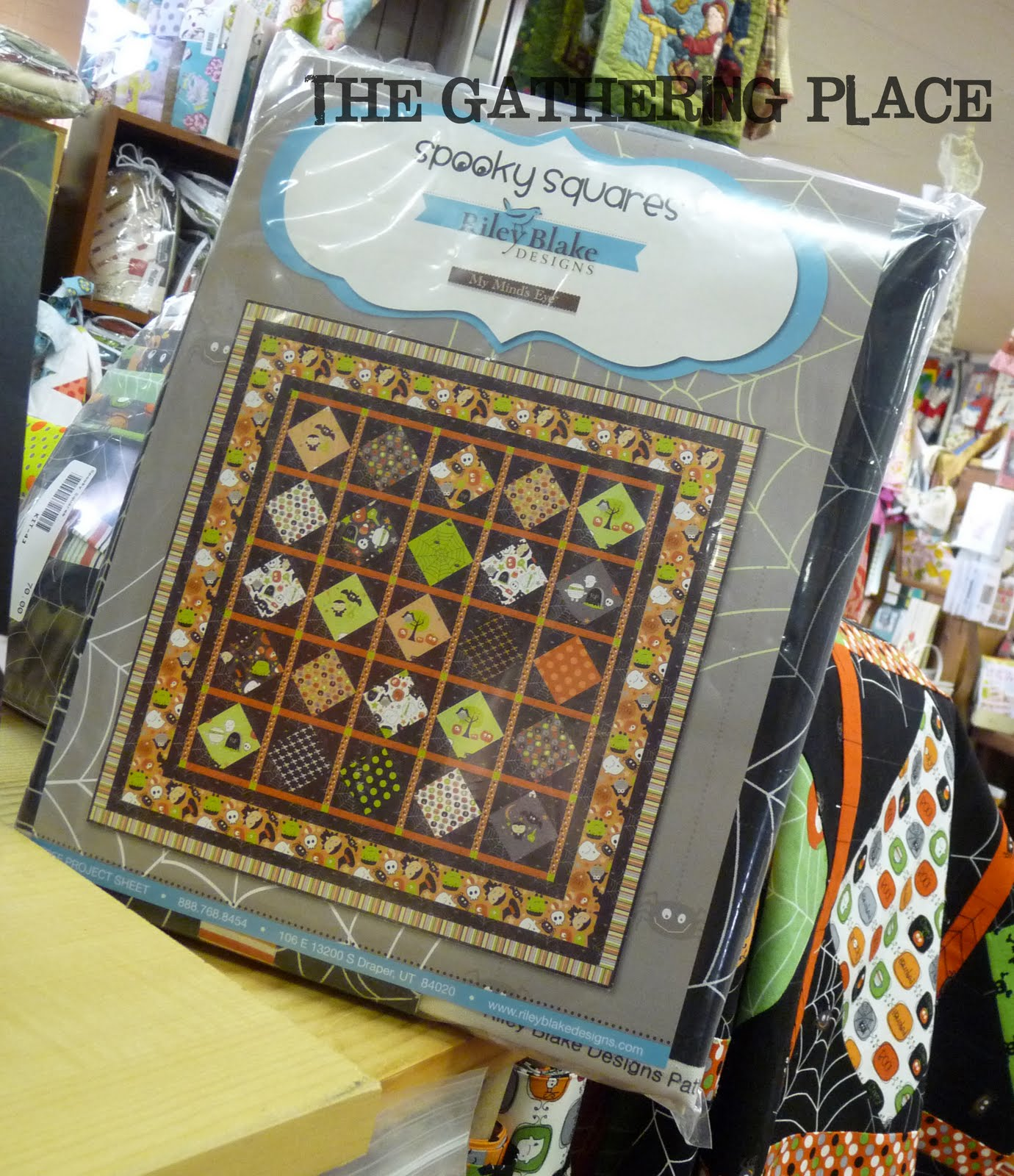 The Gathering Place Quilts Boo To You New Fabric