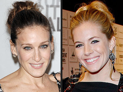 Sarah Jessica Parker to add a little elegance to their look with buns