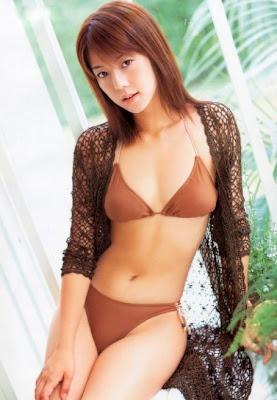 miho yoshioka bikini sexy Japanese Idol and Race Queen Miho Yoshioka