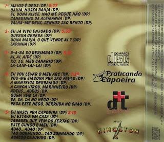 Mestre Pastinha - Eternamente (Back)