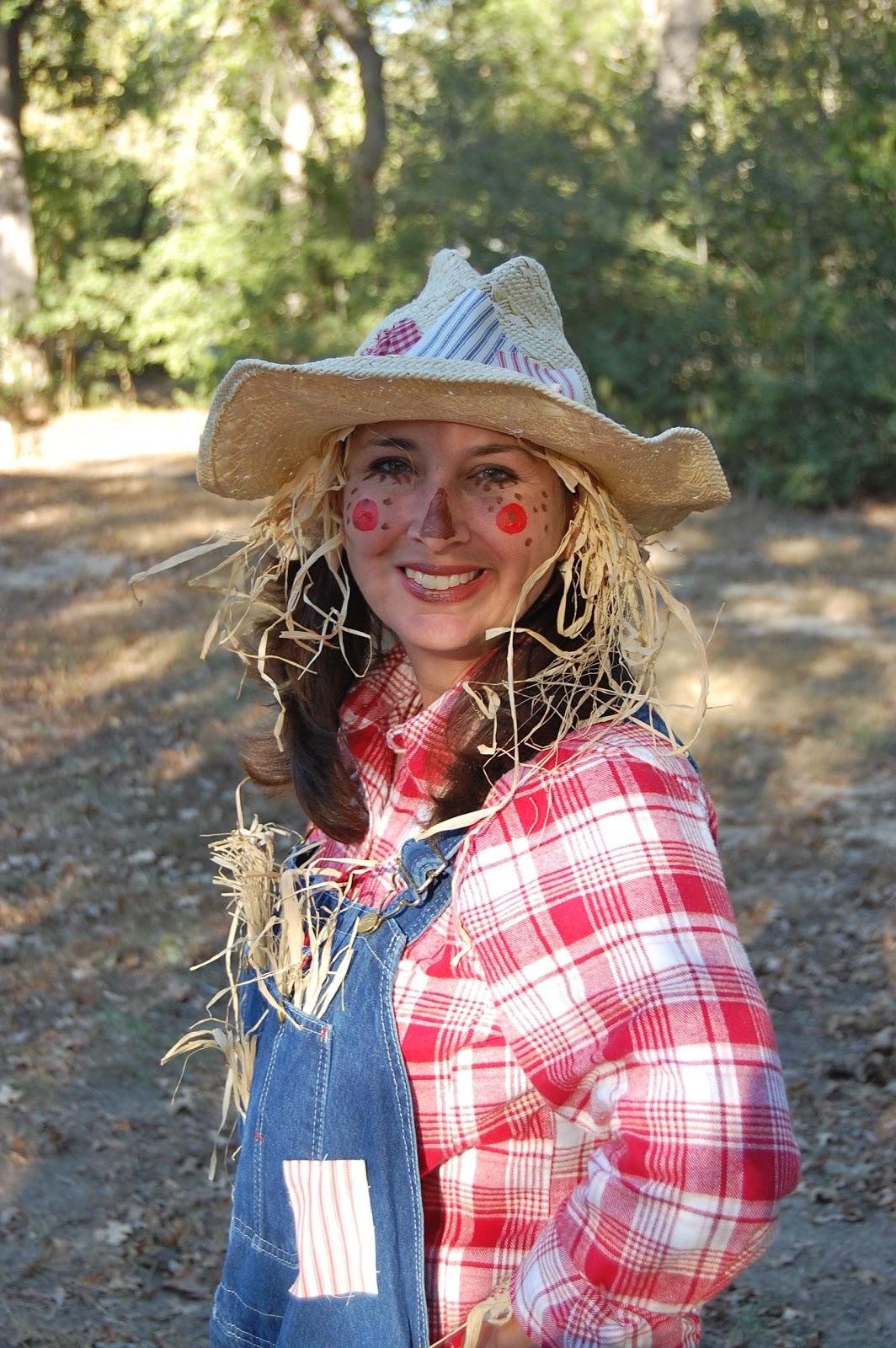 Heritage Schoolhouse Homespun Scarecrow Costume