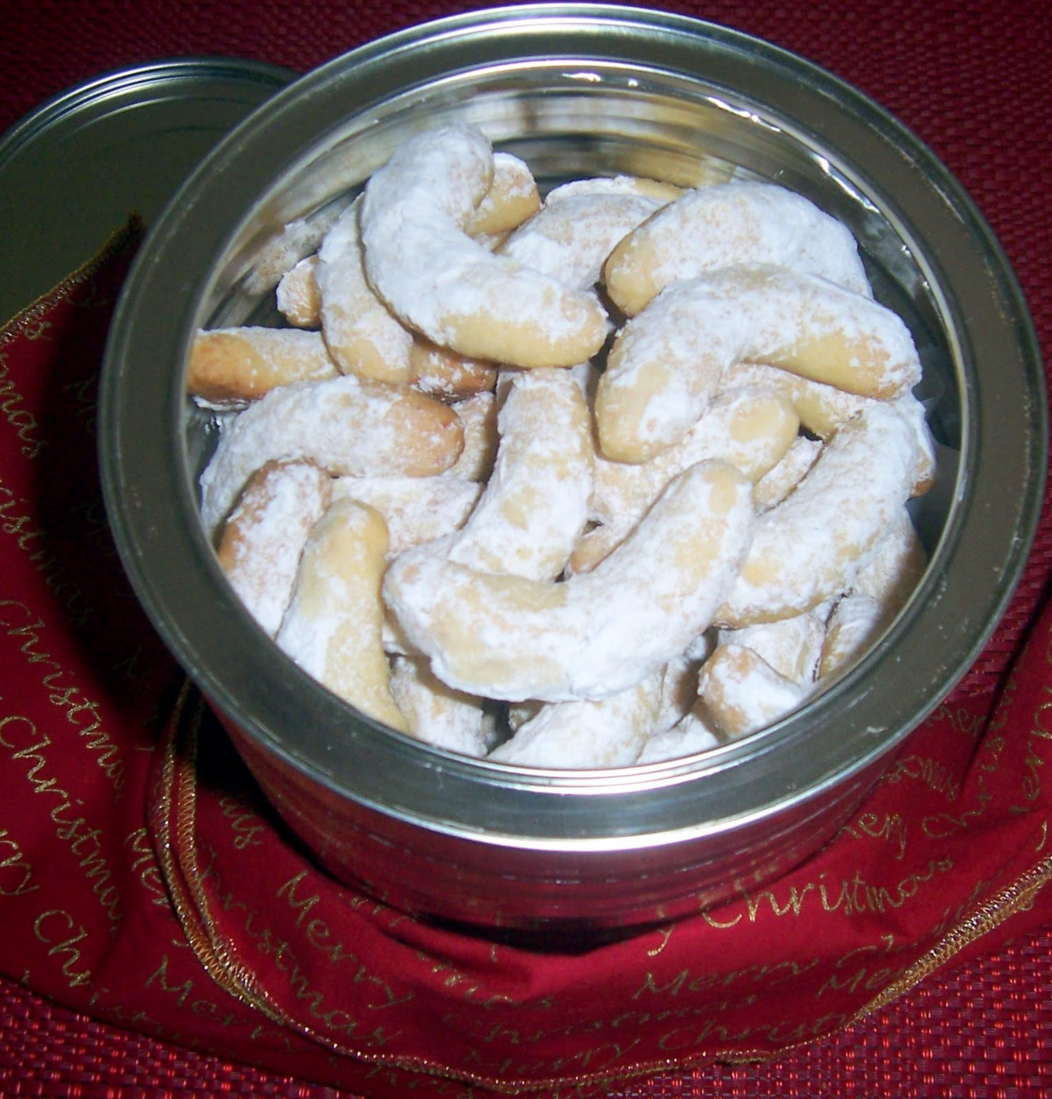 ... - in favorite recipes: Coconut biscuits - from my first cook book