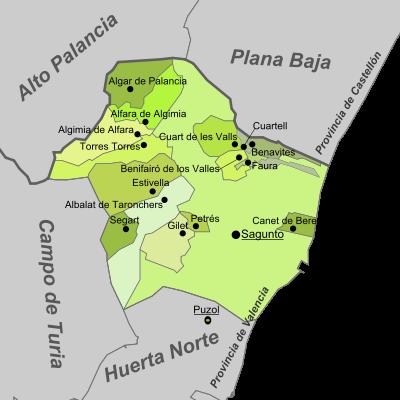 PLANO CAMP DE MORVEDRE