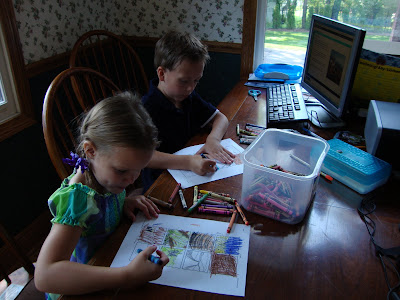 homeschool room ideas. our new home school room!