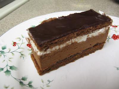 Hungarian Chocolate Mousse Cake Bars
