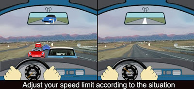 Adjust your speed limit according to situation