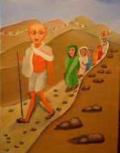 GANDHI - A GRANDE MARCHA DO SAL