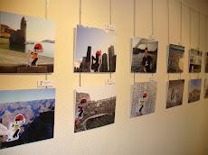 Primeres fotos de l'exposició.