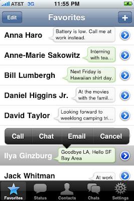 app iphone Messenger WhatsApp chatแจ๋งๆ