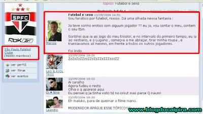 comunidade do orkut do time do são paulo