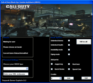 Call of Duty Zombie Mode Hack 2011 tested :D