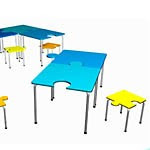 puzzle tables for day care