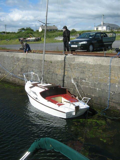 a moze zacumowana?  Tarrea Quay Kinvarra Bay  15/06/2008
