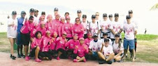 Breast cancer survivors challenge the waves