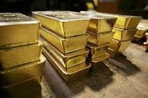 Gold on report to ditch dollar