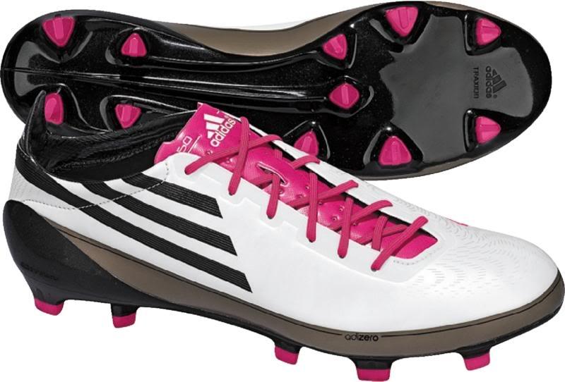adidas f50 rosas y blancas
