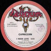 CAPRICORN - I Need Love (1982)