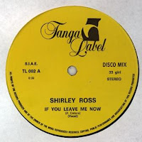 SHIRLEY ROSS - If You Leave Me Now (1983)