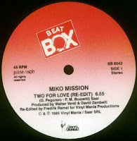 MIKO MISSION - Two For Love (Beat Box Re-Edit) (1985)